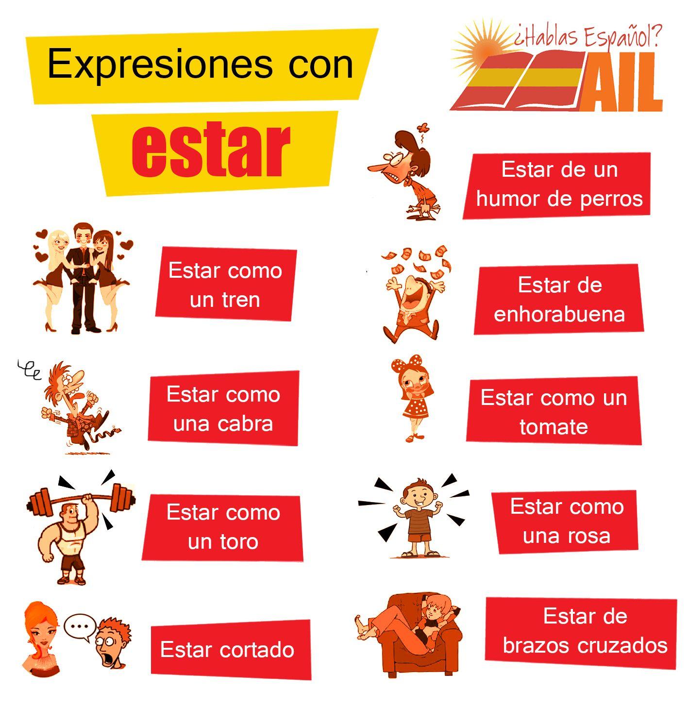 Que Os Parece Si Seguimos Apren Ndo Algunas Expresiones En Espanol Esta Vez Con El Verbo