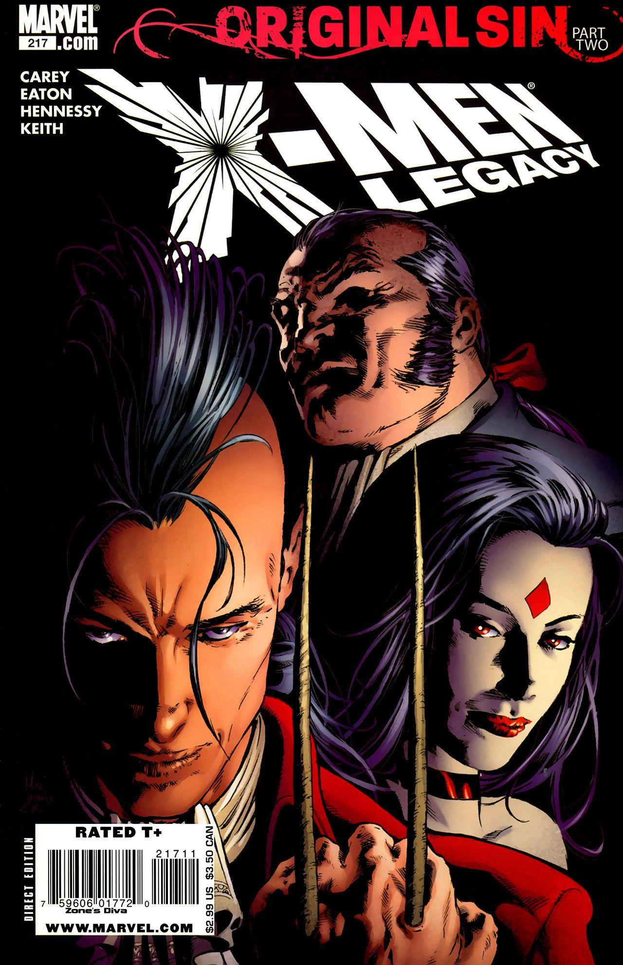 X Men Legacy Vol 1 217 Cover Art By Mike Deodato Jr Comic Book Villains Comics X Men