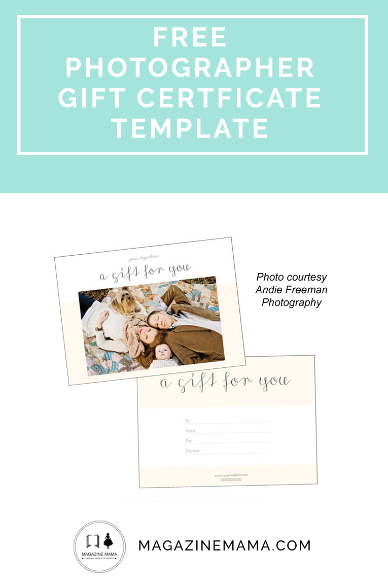 Free gift certificate photography template download now httpwww free gift certificate photography template download now httpmagazinemama 1betcityfo Image collections