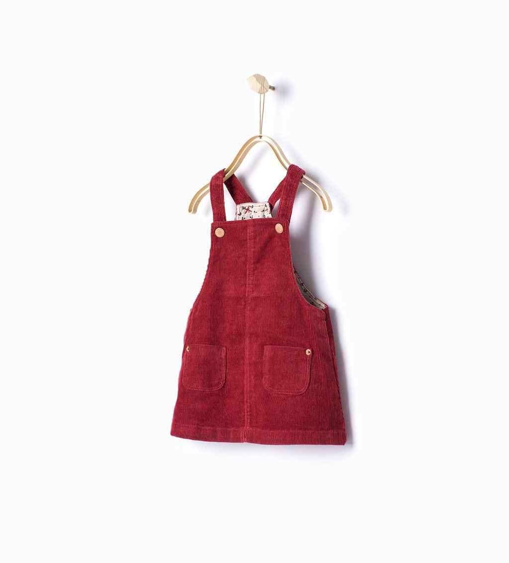 8e31ffc62bd7 Corduroy pinafore dress-Dresses and Jumpsuits-Baby girl