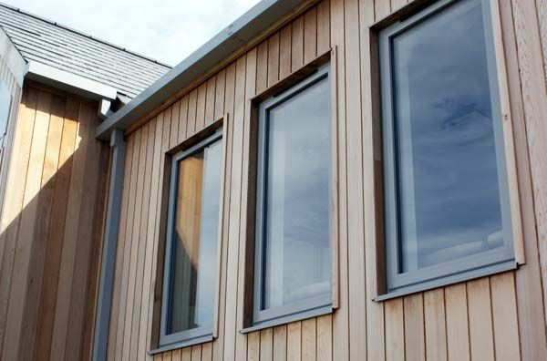 Grey aluminium windows google search home pinterest for Window cladding