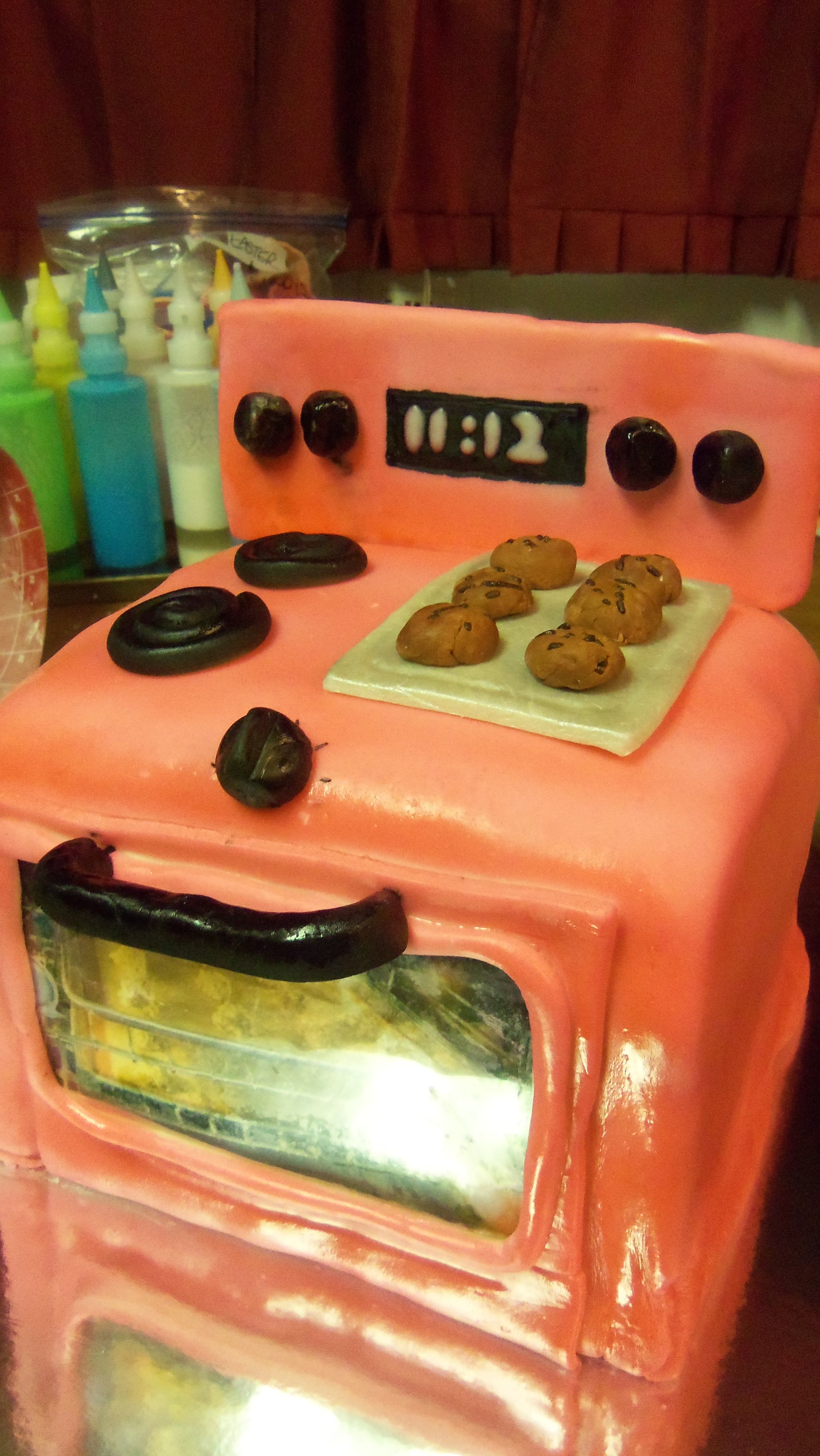"""""""Bun in the oven"""" cake   Specialty cakes, Cake, Food"""
