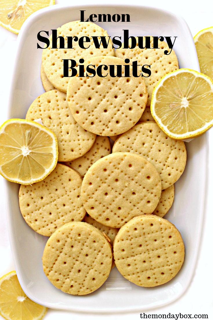 Lemon Shrewsbury Biscuits Recipe British Biscuit Recipes English Tea Biscuit Recipe Tea Cookies