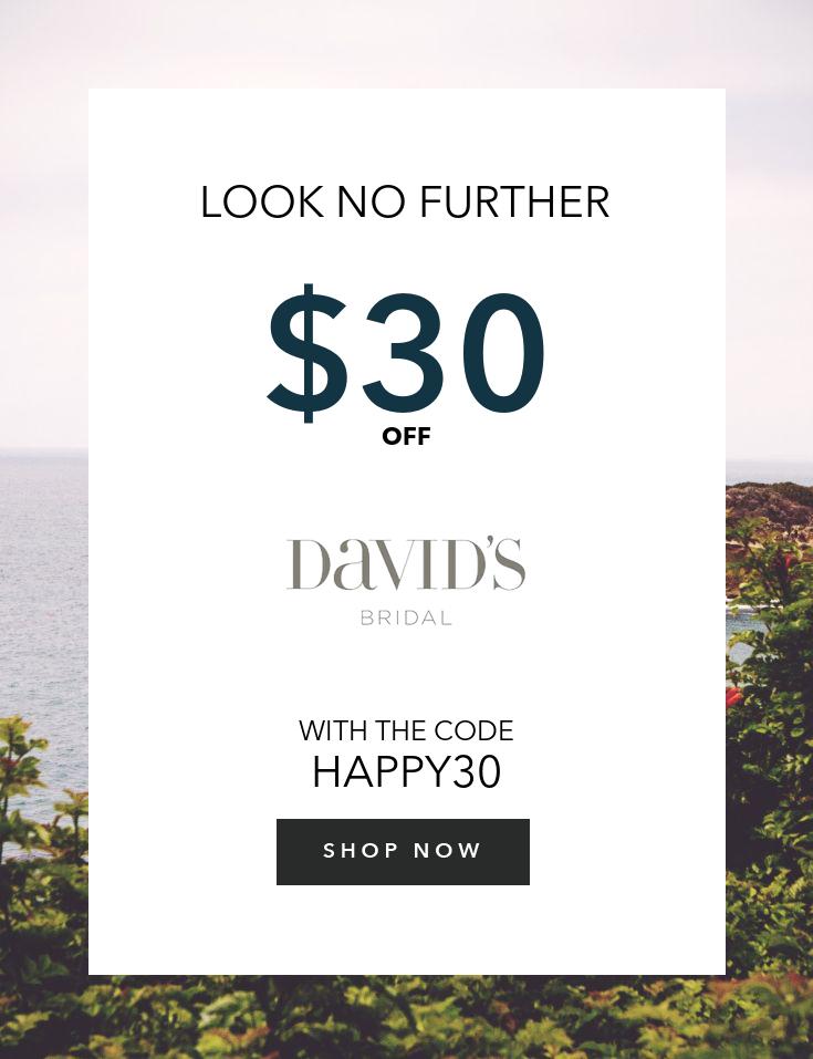 David's Bridal Shopping Guide