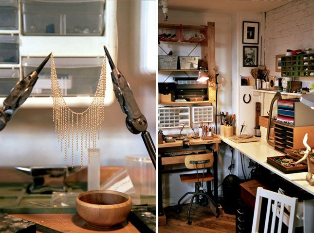 Maker Spaces Incredible Studios Shops And Craft Rooms Brit - Craft room home studio setup