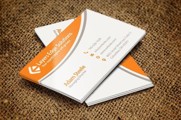 Simple Business Cards In  Colors Templates  Beautiful Ready To