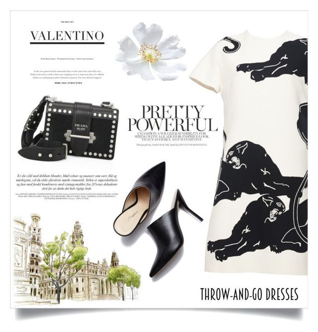 """""""Quick chic"""" by anchilly23 ❤ liked on Polyvore featuring Valentino and Prada"""