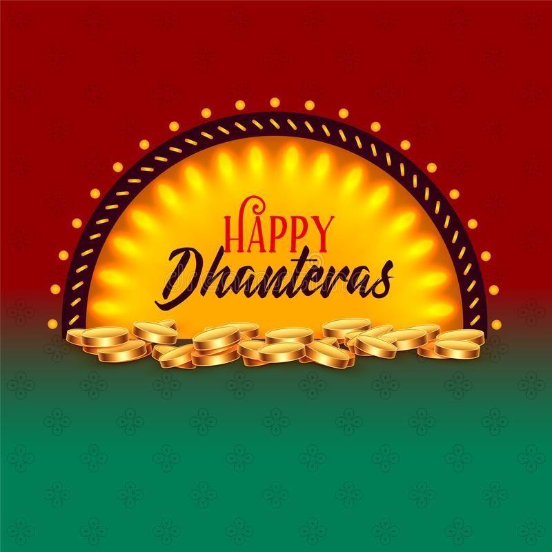 Creative happy dhanteras festival card greeting design background vector illustration #happydhanteras Creative happy dhanteras festival card greeting design background vector illustration #happydhanteras