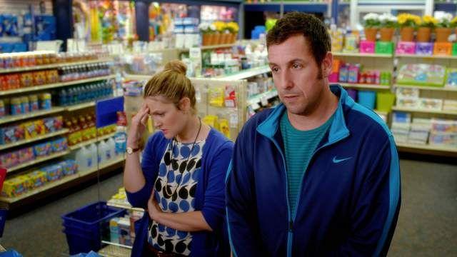 Second Trailer For Blended Starring Drew Barrymore And Adam Sandler