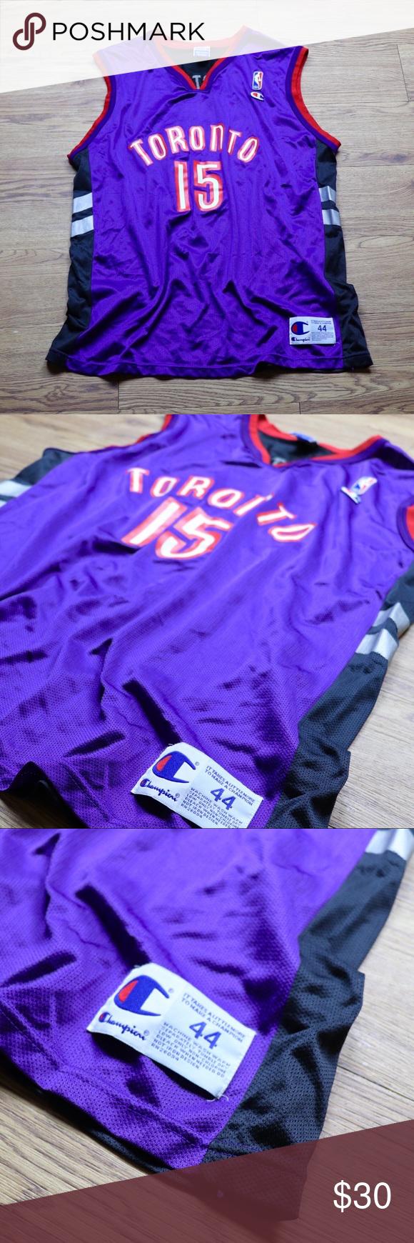 Vintage Vince Carter Toronto Raptors Jersey Vintage  7b9ef04bd