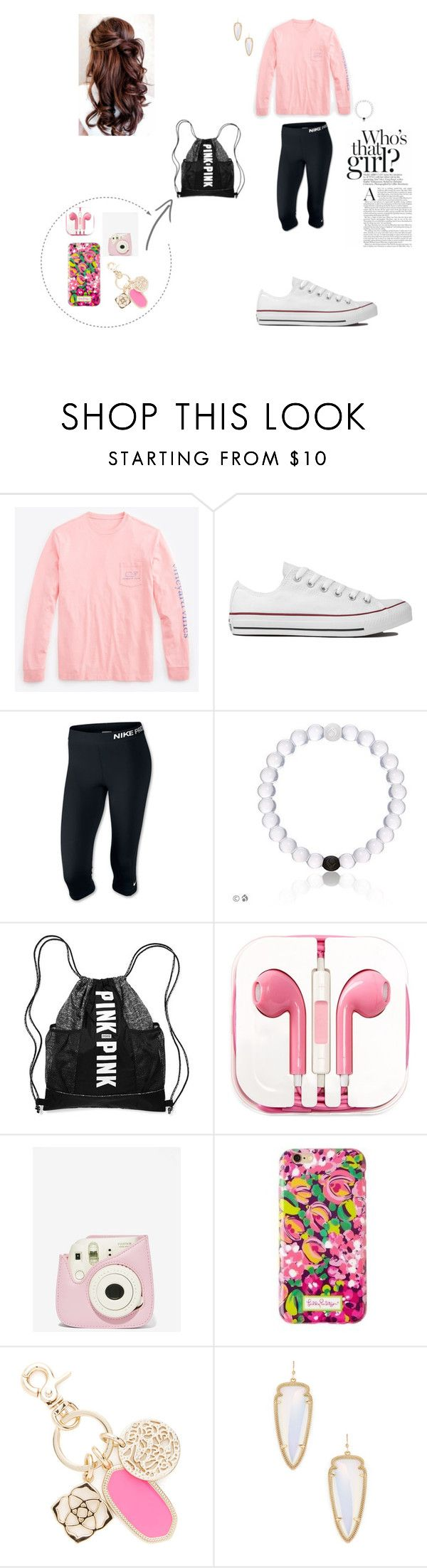 """vinyard vines 3"" by kailey-claire on Polyvore featuring Vineyard Vines, Converse, NIKE, PhunkeeTree and Kendra Scott"