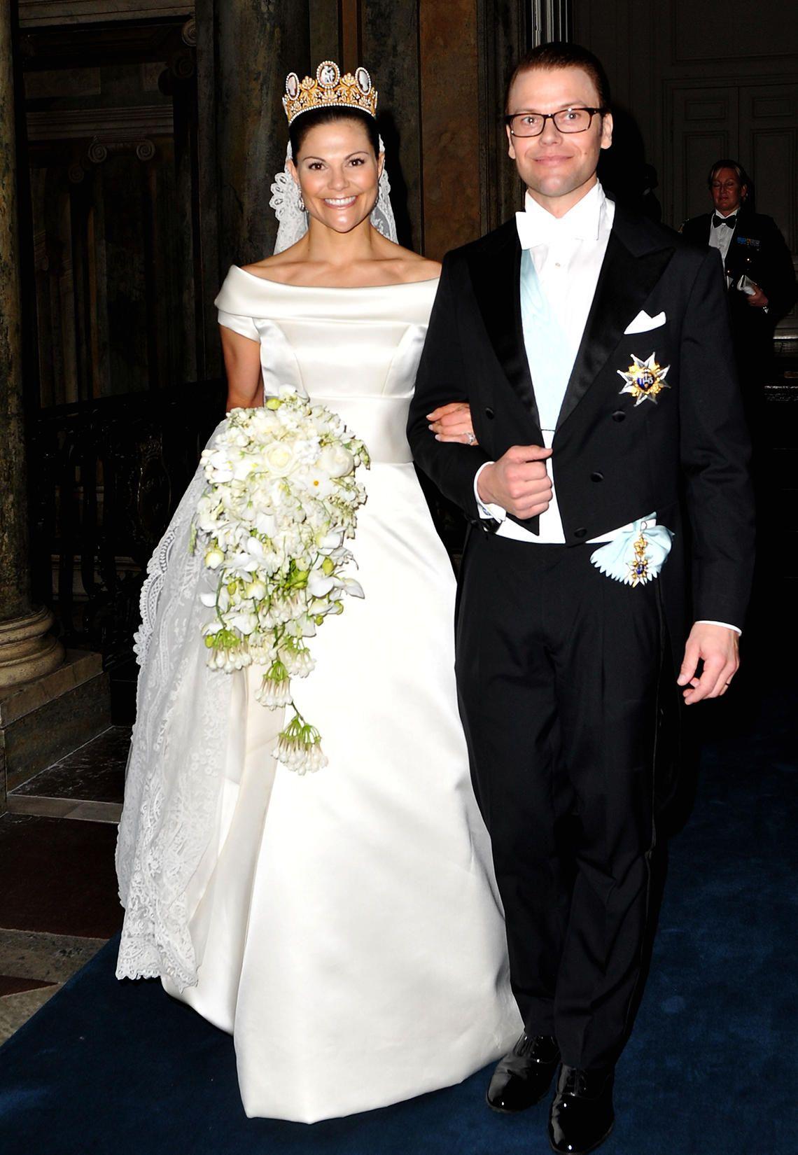 Die Hochzeitskleider der Schweden-Prinzessinnen  Royale