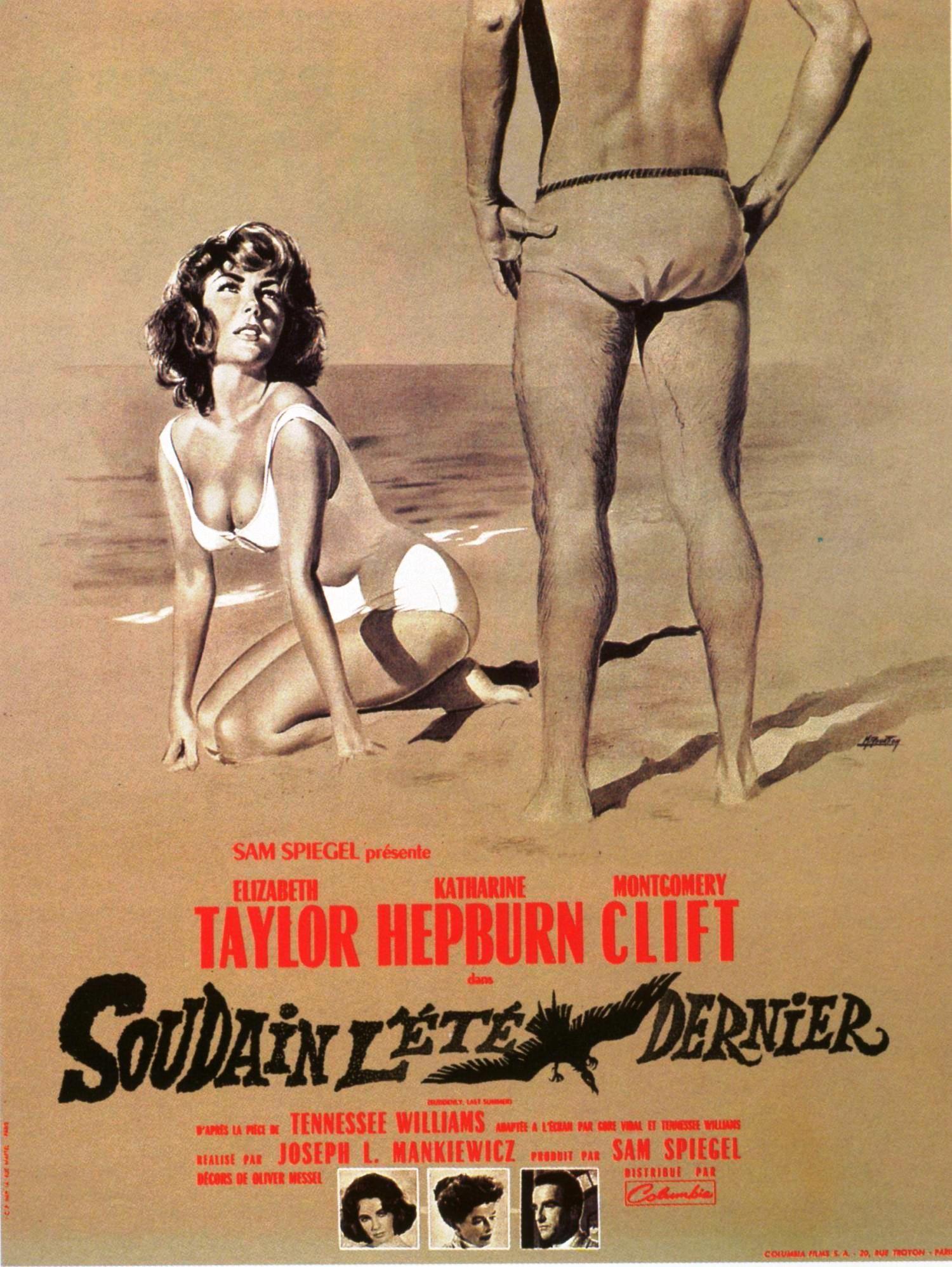 Resultado de imagem para Suddenly, Last Summer poster