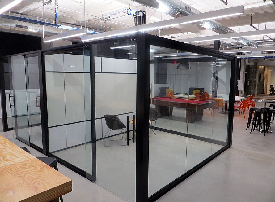 Superieur Sustainable   Demountable   Removable Office Wall | *dropping The Ceiling  Some And Adding Acoustical