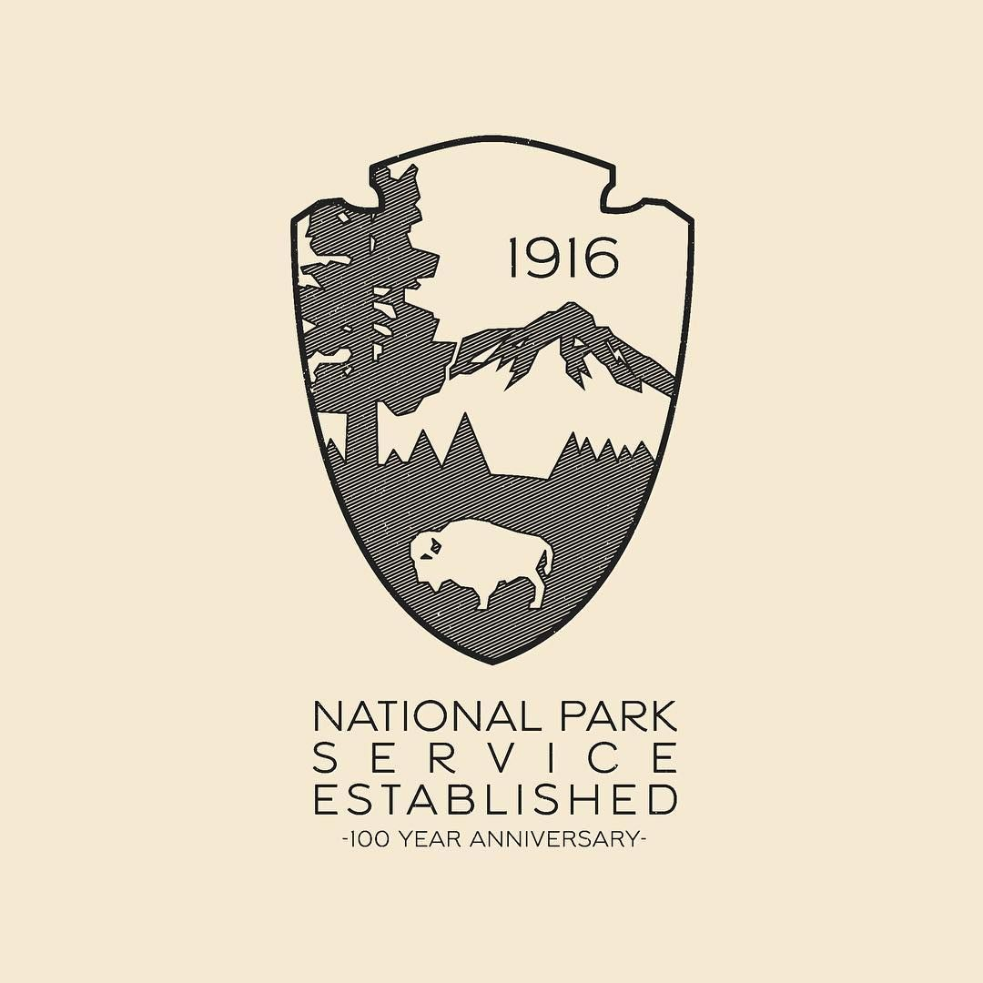 Logo shape (With images) National park posters, National
