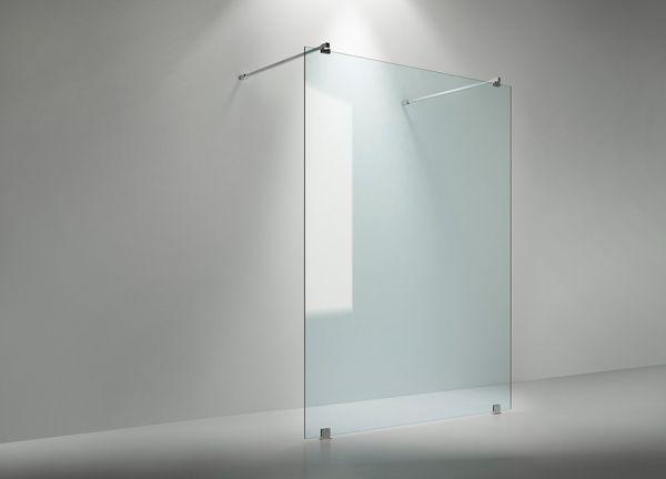Walk-in-suihkuseinä ARC 43 on selkeä ja tyylikäs ratkaisu, joka sopii parhaiten hieman isompaan kylpyhuoneeseen.