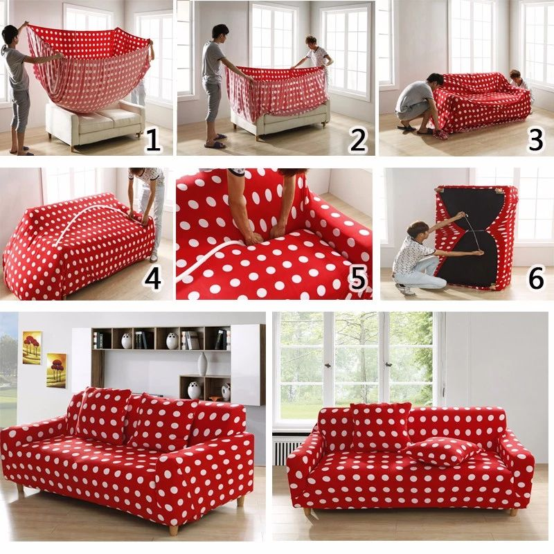 Cheap Universal Sofa Cover Flexible Stretch Big Elasticity Couch Cover Loveseat Sofa Funiture Cover Flower Machine Was Diy Couch Cover Diy Sofa Cover Diy Couch