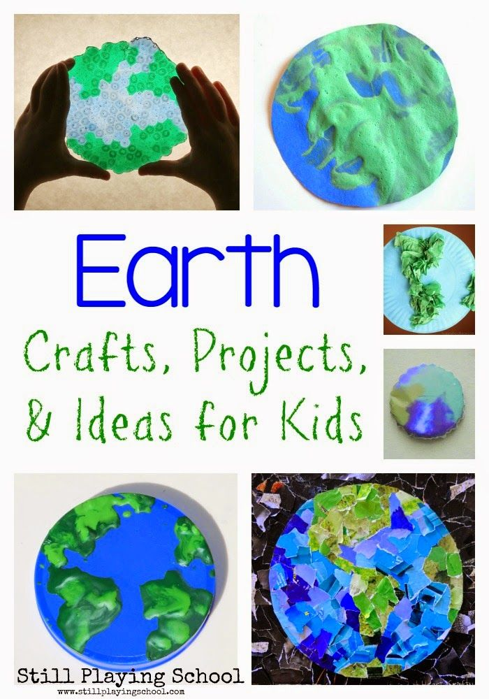 Earth Day Crafts, Projects, and Ideas for Kids | Let's teach