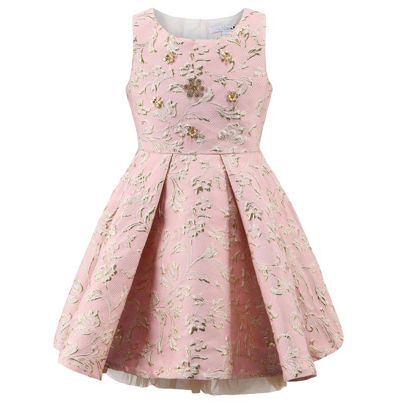 ab6e029fe9 Barato Bebê Menina Vestido de Princesa 3 12 Anos de Miúdos Vestidos para  Menina Da Criança Crianças Lantejoulas Sem Mangas Outono   Inverno Moda  roupas