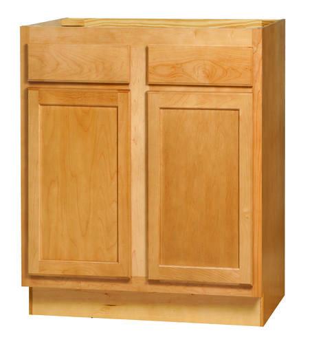 Kitchen Kompact Mellowood Maple 33 Sink Cooktop Base Cabinet Cabinet Base Cabinets Kitchen Cabinets