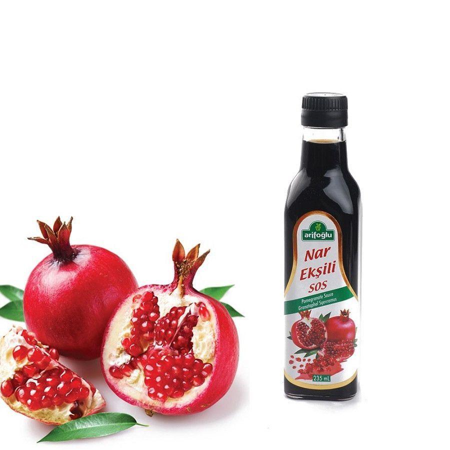 Arifoglu Nar Eksili Sos / Pomegranate Syrup 750 ml Cam Sise / Glass