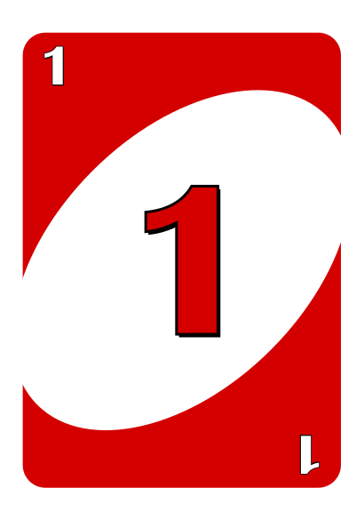 Uno Cards Number 1 Google Search Uno Cards Card Template Cards