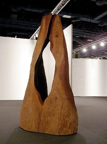 artnet Galleries: Folds by David Nash from Annely Juda Fine Art