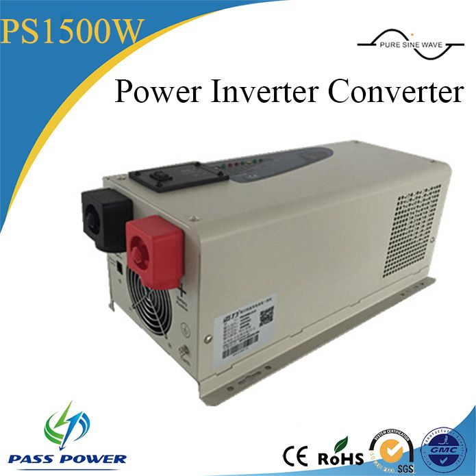 1500W DC 12//24V to AC 110//220V Sine Wave Car Solar Power Inverter Converter Well