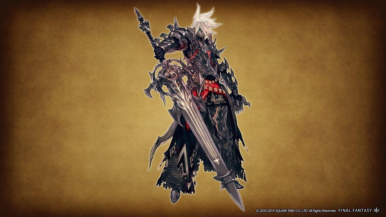 Ffxiv Dark Knight Wallpaper Wallpapersafari Final Fantasy