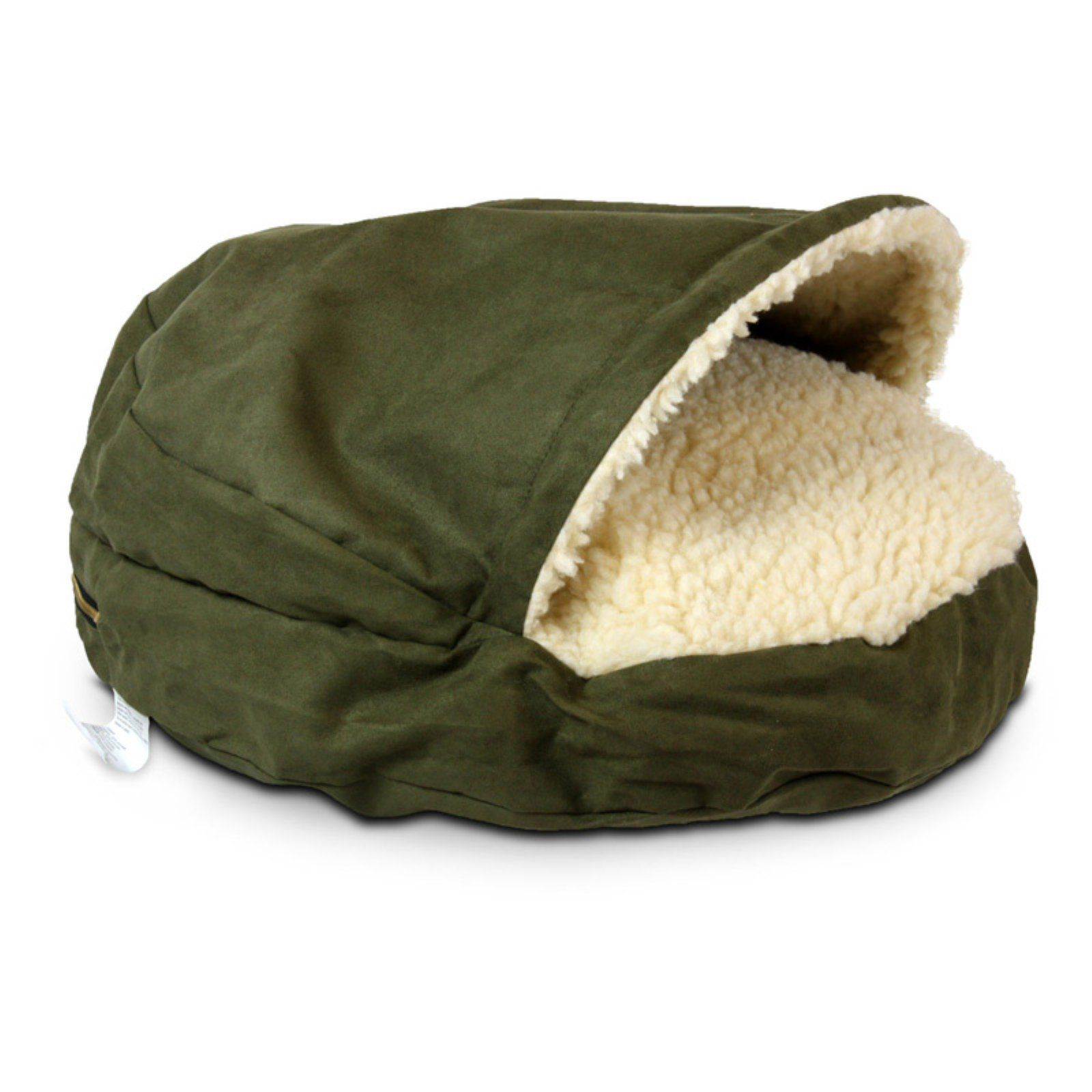 Snoozer Orthopedic Luxury Microsuede Cozy Cave Pet Bed