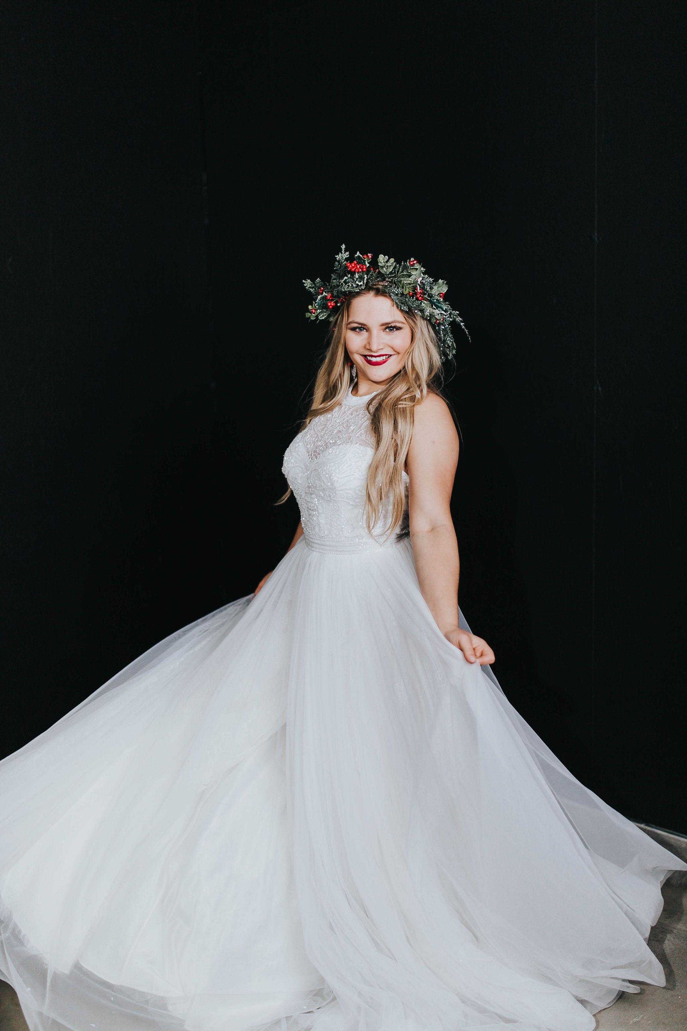 Christmas Dress Winter Dress Utah Prom White Long Dress Amazing