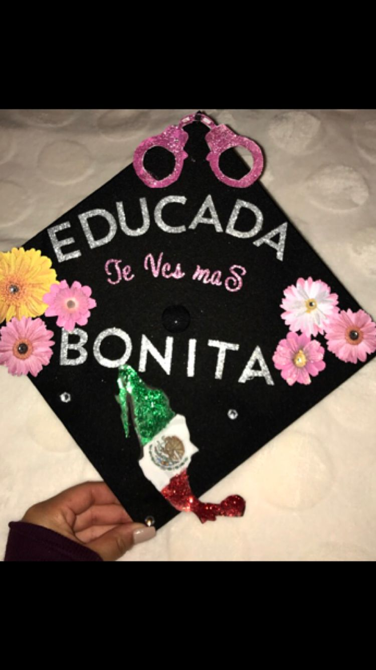 Graduation Cap Latina Administration Of Justice Girl Paddle Ideas