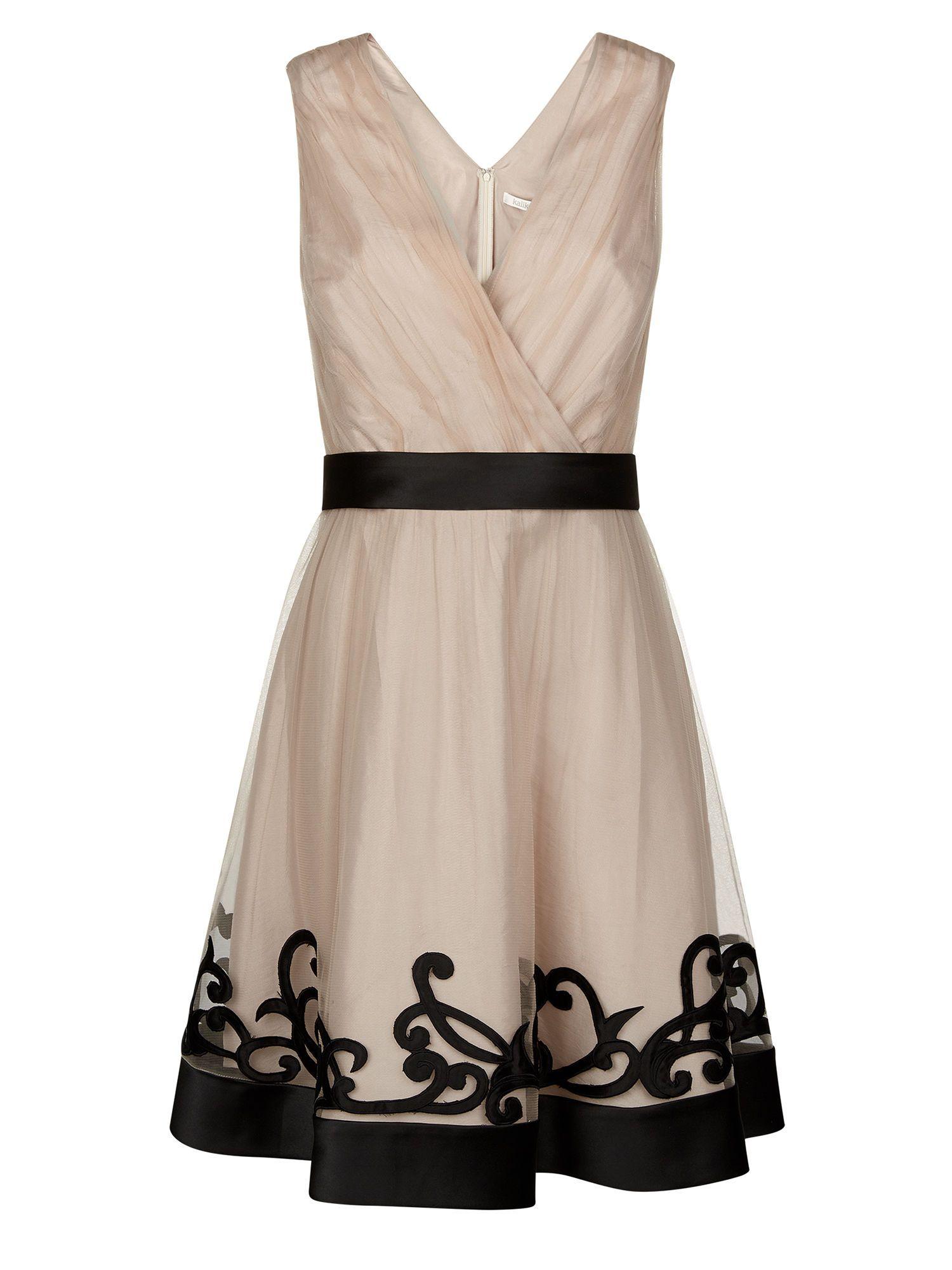 Kaliko mesh applique vintage prom autumn wedding outfits