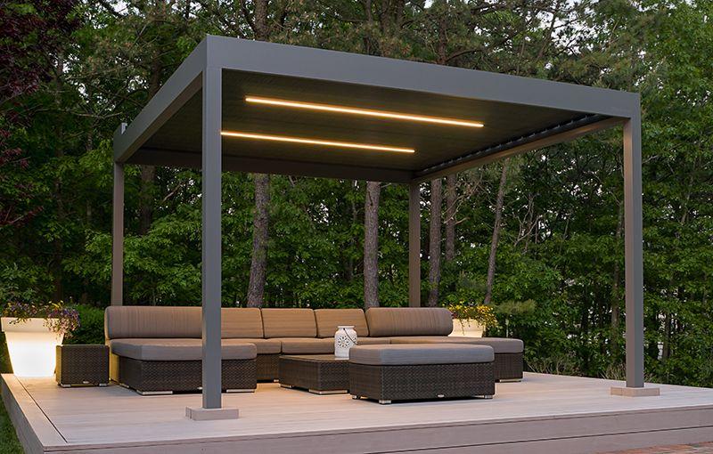 Denver Shade Company Markilux Pergola 110 Retractable Roof Cover