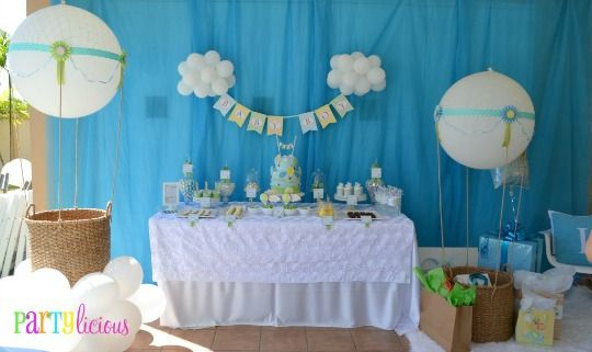 Baby Shower Decoracion Para Niño ~ Baby shower globos g sedinte kids balon zburator