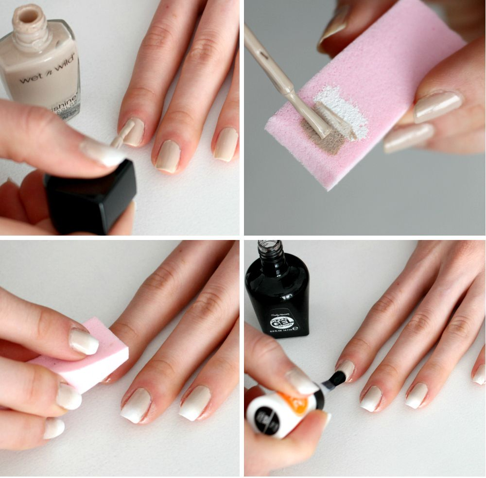 fake Gel Nails Tutorial