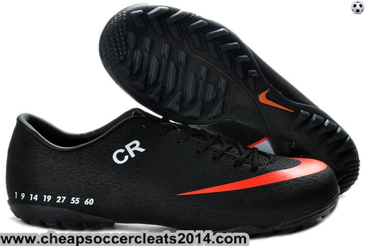 fc556acbb41 ... shop cr exclusive personal turf cleats nike mercurial vapor superfly  sixth style black orange cheap disco