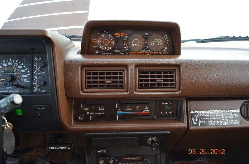 gen 1st 4runner interior toyota sr5 tacoma 4x4 westcountyexplorersclub cruiser