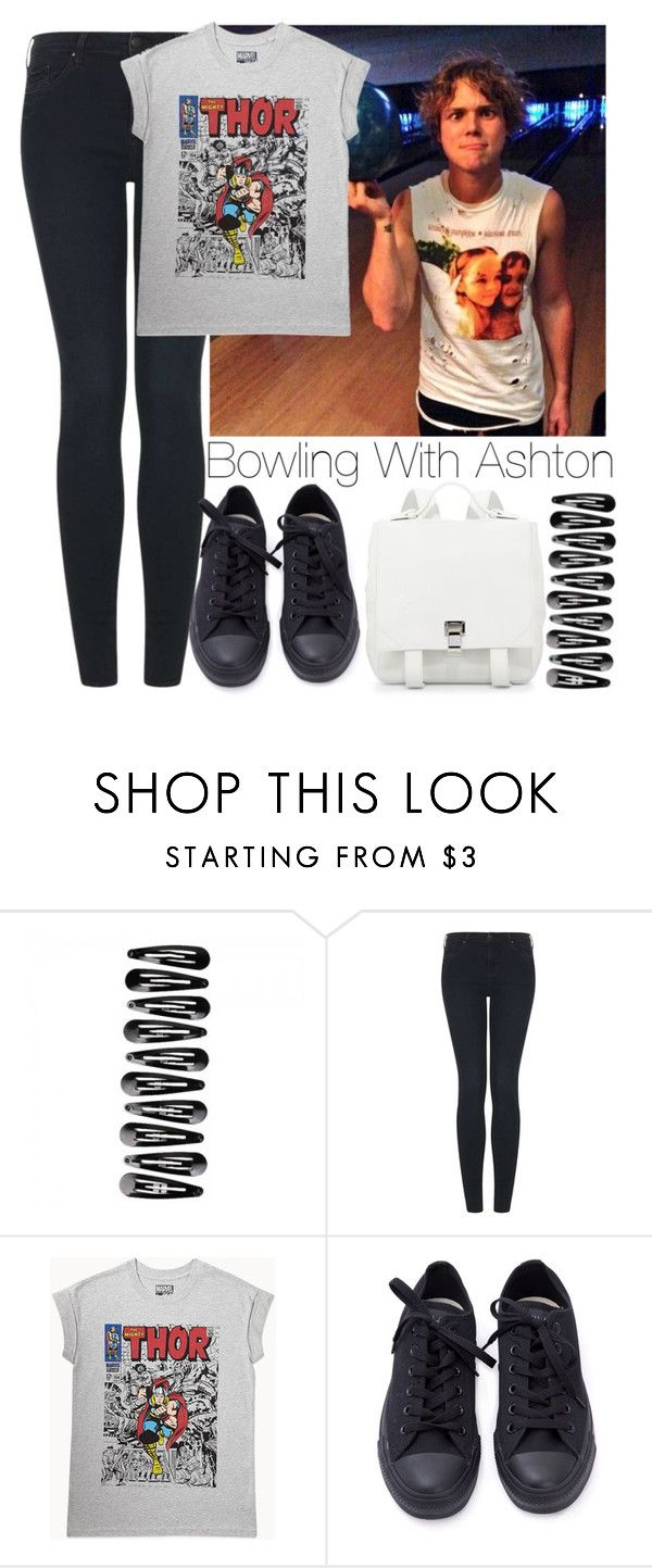 """""""Bowling with Ashton"""" by lovatic92 ❤ liked on Polyvore featuring Topshop, Forever 21 and Proenza Schouler"""