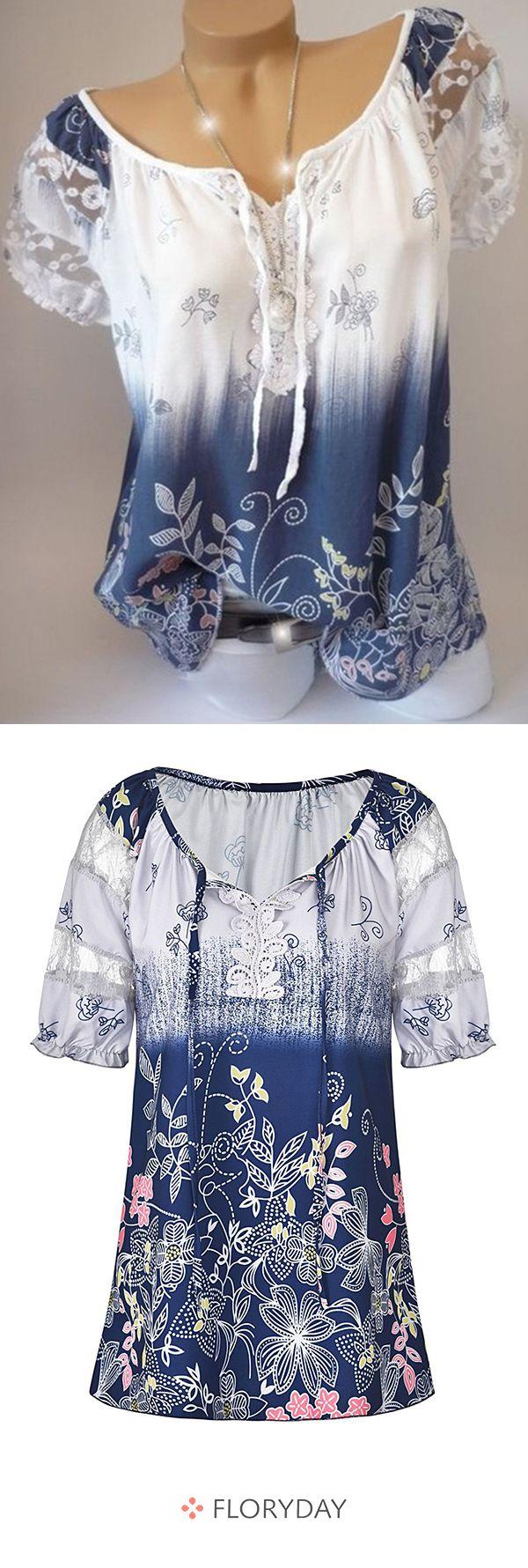 Eine wunderbare Bluse, leicht und angenehm zu tragen ...