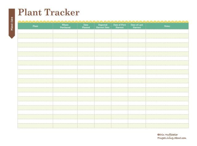 Use These Printable Garden Notebook Sheets to Organize Your Records