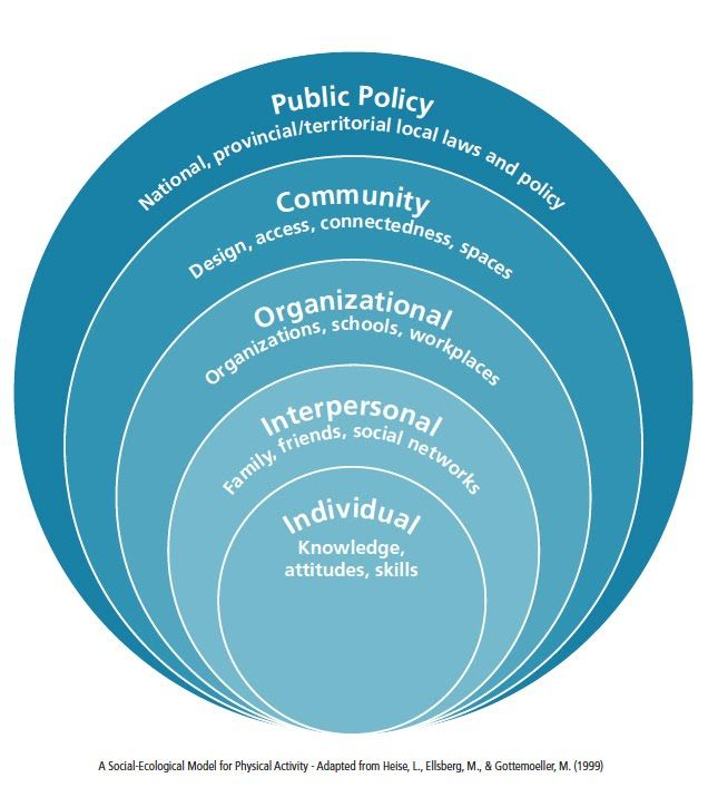 Image result for social ecological model uw