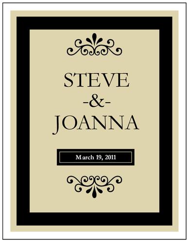 Free Wine Bottle Label Template for Weddings | Gift ideas ...
