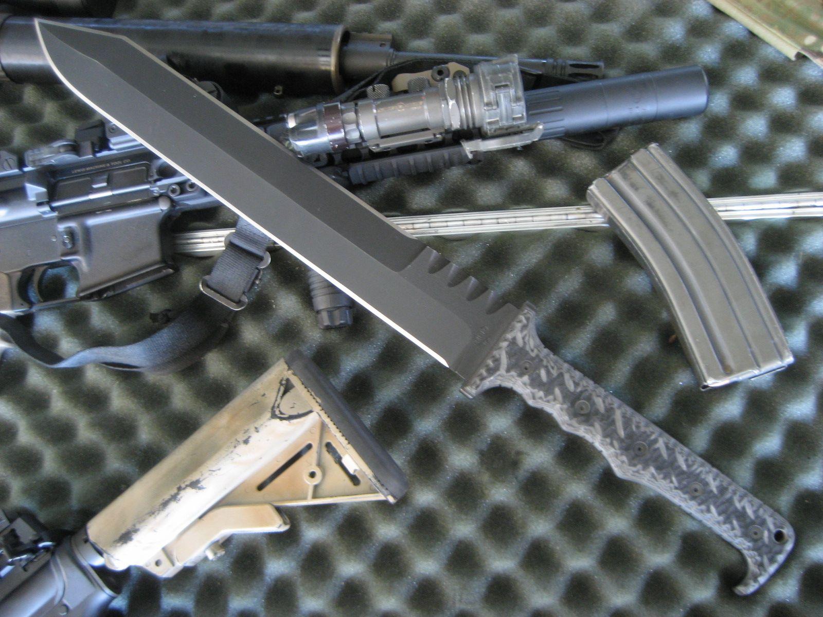 Miller Bros Blades Mbb M 2 Tactical Short Sword Custom