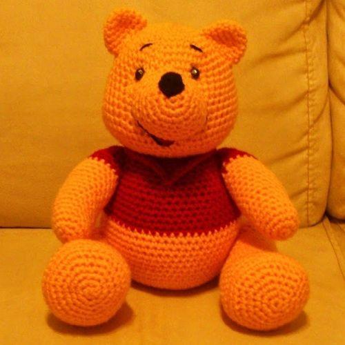 Patrón Winnie Pooh   Amigurumi   Pinterest   Häkeltiere und Süß