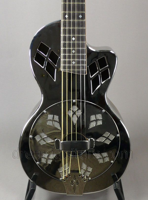 2006 Phillips Resonator Parlor Cutaway - Single Cone Resonator Acoustic Guitar.