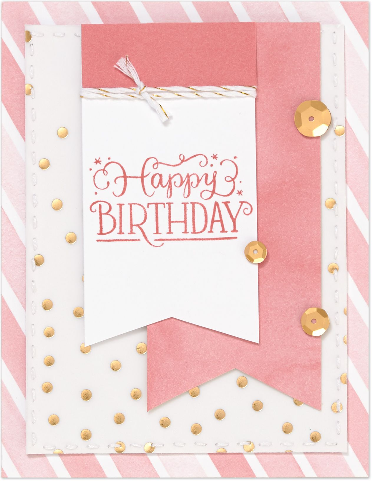 tricks for attaching vellum birthday cards pinterest cards