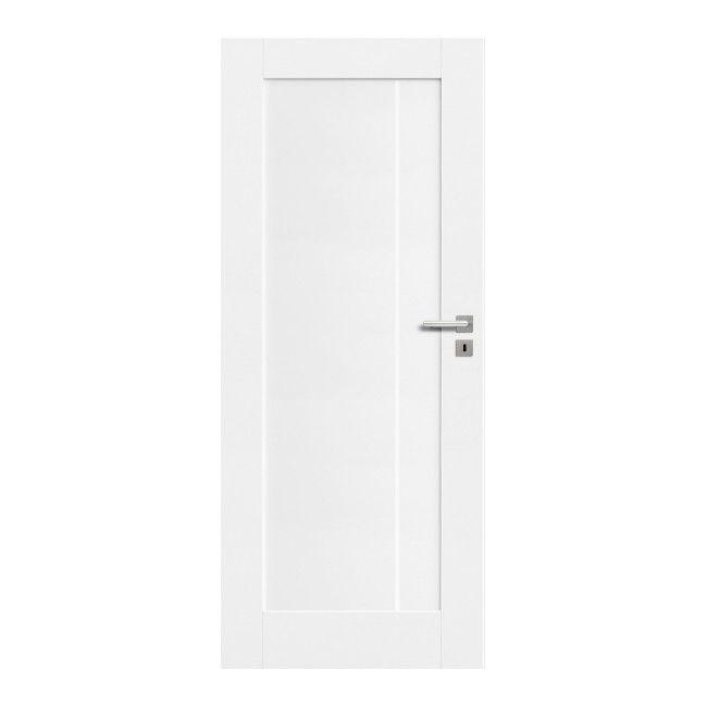 Drzwi Pelne Fado 80 Lewe Kredowo Biale Drzwi Jednoskrzydlowe Drzwi I Klamki Internal Doors Tall Cabinet Storage White Internal Doors