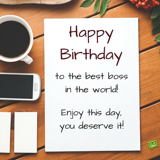 Professionally Yours Happy Birthday Wishes For My Boss Congratz
