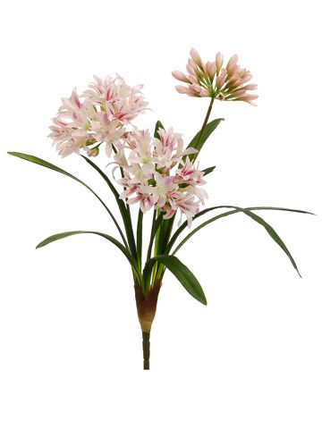 Agapanthus Silk Flowers | Wedding Flowers | Flower Arrangement Flowers
